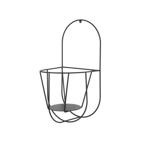 OK Design - Cibele Wand-Blumentopfhalter Small, schwarz