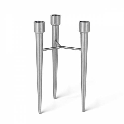 Mater - Spike Kerzenhalter, Aluminium matt