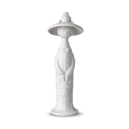 Bjørn Wiinblad - Vier Jahreszeiten Figur, Sommer H 17,5 cm, weiß