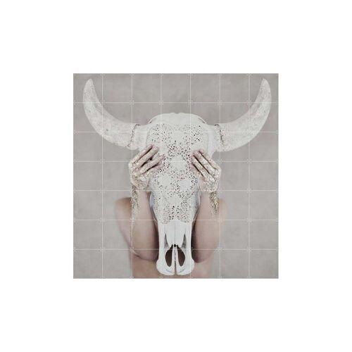IXXI - Bohemian Skull, 140 x 140 cm