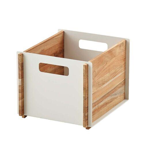 Cane-line - Box Aufbewahrungskasten, Teak / weiß