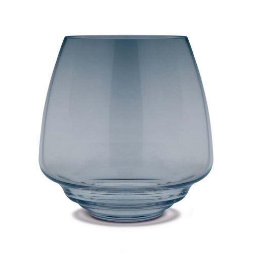 Holmegaard - Flow Blockkerzenhalter Ø 18,5 cm, blau