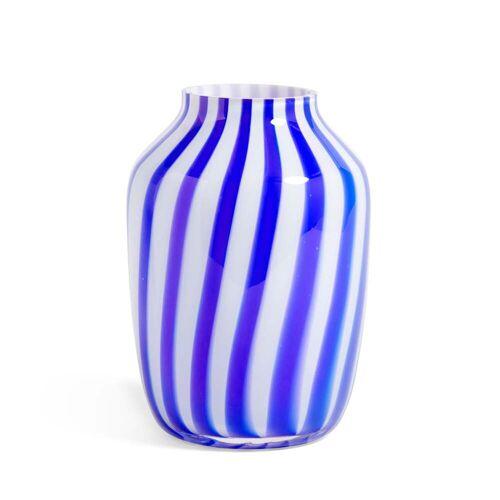 HAY - Juice Vase, Ø 20 x H 28 cm, blau
