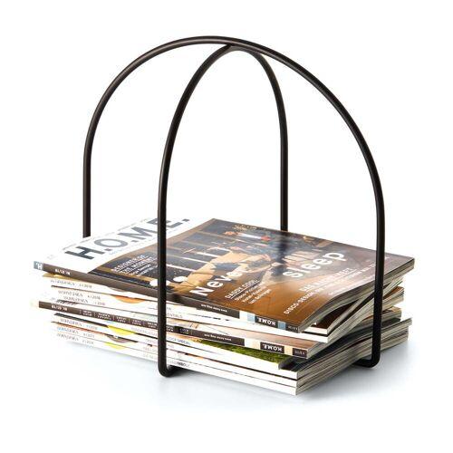 Philippi - Magazine Zeitschriftenhalter, schwarz