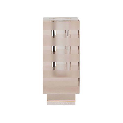 OYOY - Graphic Vase und Kerzenhalter, quadratisch / hellbraun