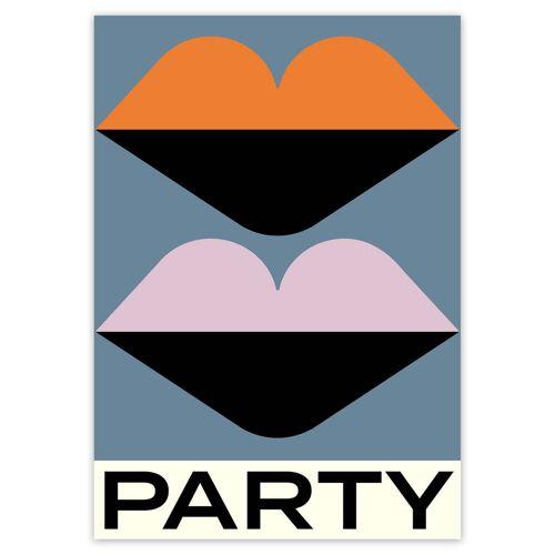 artvoll - Party Poster, 21 x 30 cm