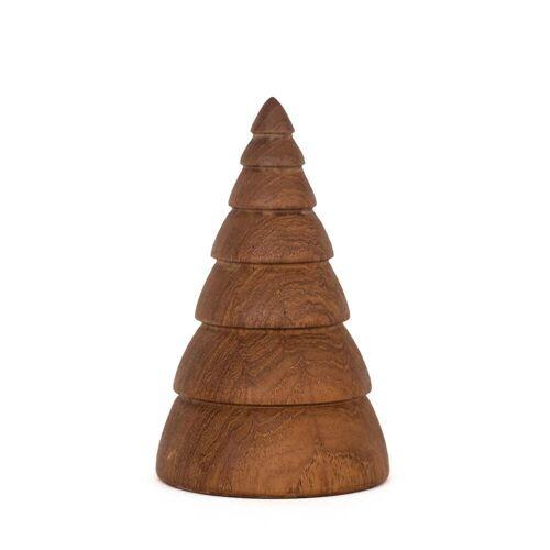 ArchitectMade - Jul Weihnachtsdekoration Tannenbaum large, Teak