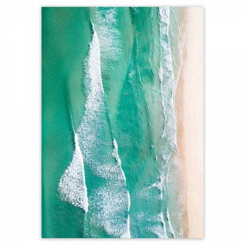 artvoll - Beach No. 1 Poster, 70 x 100 cm