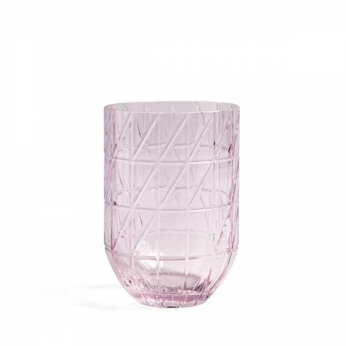 HAY - Colour Vase Glasvase, L, pink