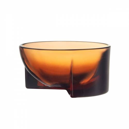 Iittala - Kuru Glasschale, 130 x 60 mm, sevilla-orange