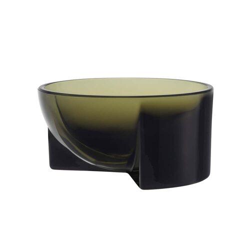 Iittala - Kuru Glasschale, 130 x 60 mm, moosgrün