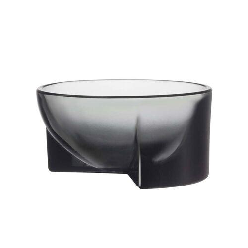 Iittala - Kuru Glasschale, 130 x 60 mm, grau