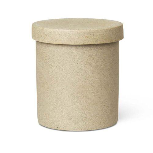 ferm LIVING - Bon Accessoires Aufbewahrungsdose, groß, beige