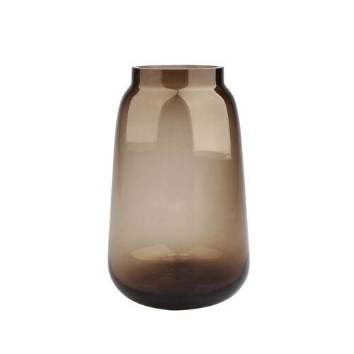 Connox Collection - Bou Vase Ø 15 x H 24 cm, braun