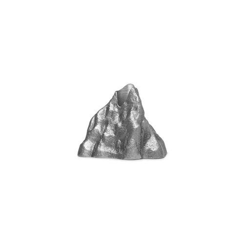 ferm LIVING - Stone Kerzenhalter small, Aluminium