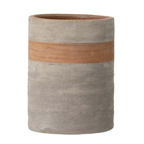 Bloomingville - Keem Blumentopf, Ø 15,5 cm, terrakotta