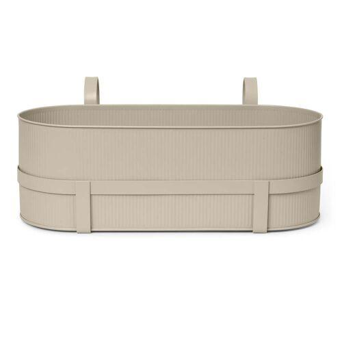 ferm LIVING - Bau Balcony Box, cashmere