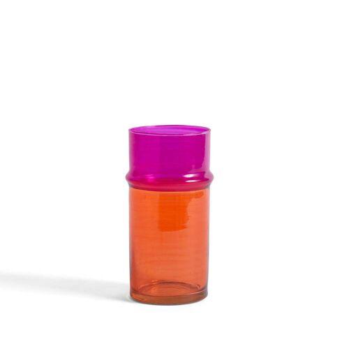 HAY - Marokkanische Vase S, orange / pink