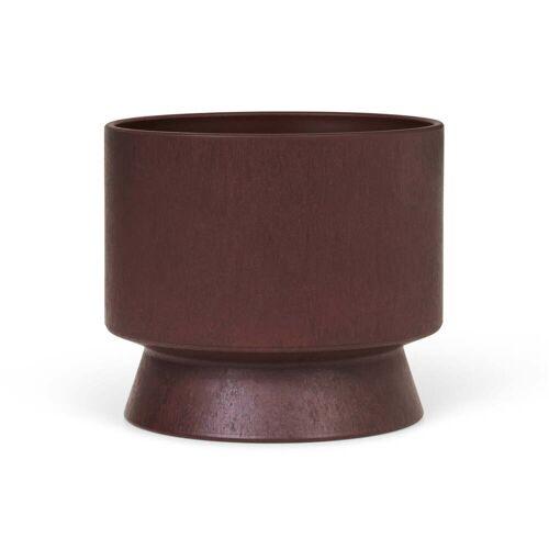 Rosendahl - Übertopf Recycelt, Ø 15 cm, bordeaux