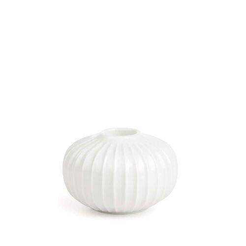 Kähler Design - Hammershøi Kerzenständer, Ø 8,5 x H 4,5 cm, weiß