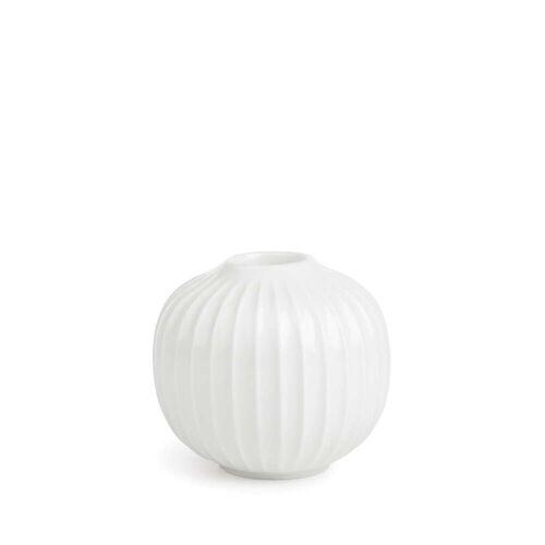 Kähler Design - Hammershøi Kerzenständer, Ø 8 x H 5,5 cm, weiß