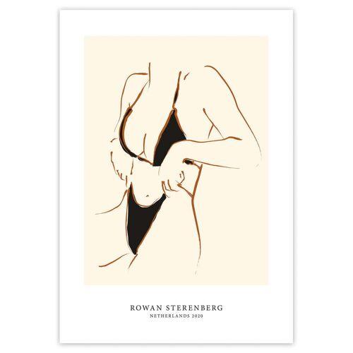 artvoll - Woman in bikiniPoster, 30 x 40 cm