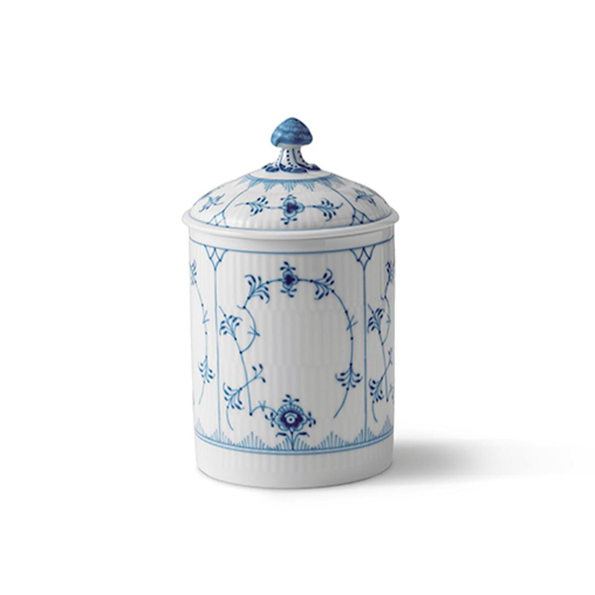 Royal Copenhagen - Musselmalet Dose mit Deckel 16 cm