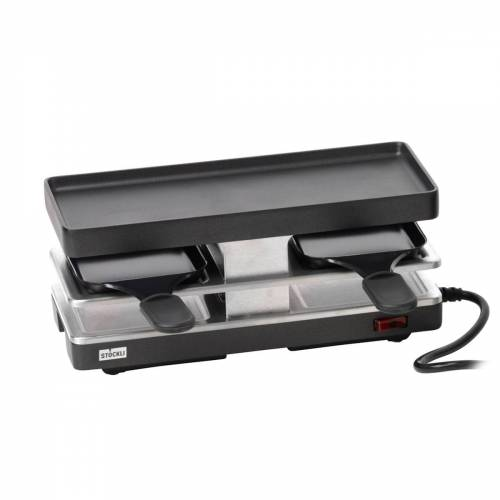 Stöckli - Raclette Twinboard Basisgerät, anthrazit