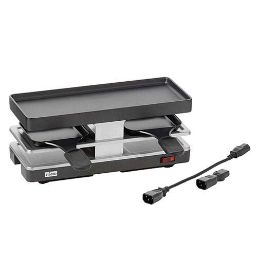 Stöckli - Raclette Twinboard Fortsetzungsgerät, anthrazit