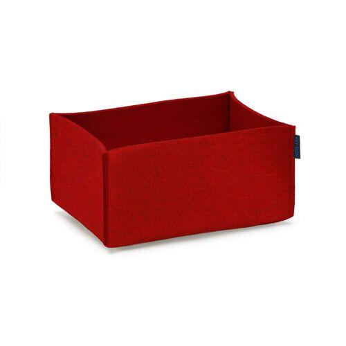 Hey Sign - Box rechteckig, rot
