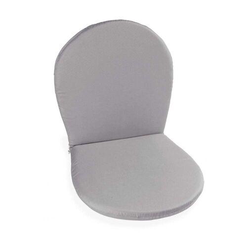 Emu - Sitz- und Rückenkissen für Ronda Stuhl, grau