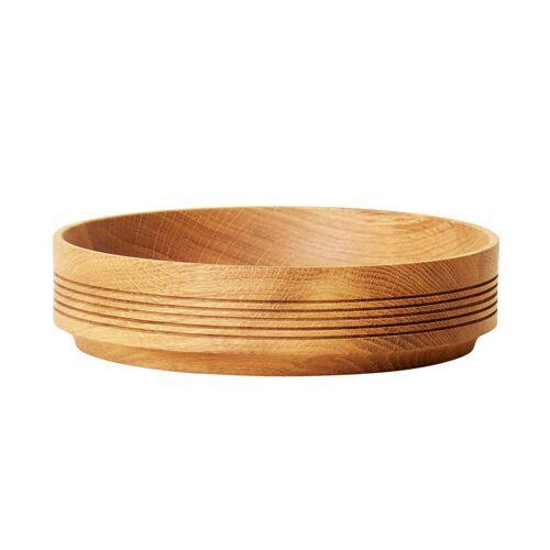 Form & Refine - Section Holzschale, Ø 24 cm H 6 cm, Eiche