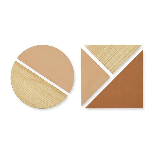 Nofred - Magnete für Pinnwand, sand