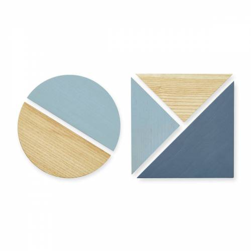 Nofred - Magnete für Pinnwand, blau