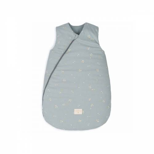 Nobodinoz - Cocoon Baby-Schlafsack 0-6 Monate, willow soft blue