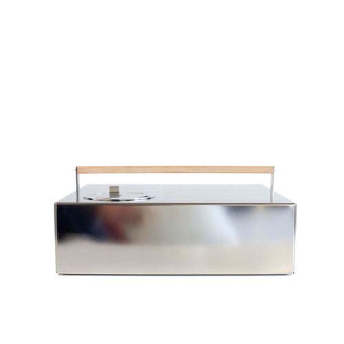Röshults - Deckel für BBQ Grill, 43 x 43 x 13 cm