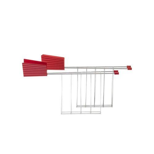 Alessi - Toasterzange für Plissé Toaster, rot (2er-Set)