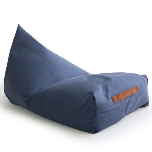 Nobodinoz - Oasis Kinder-Sitzsack, 109 x 53 cm, aegean blue