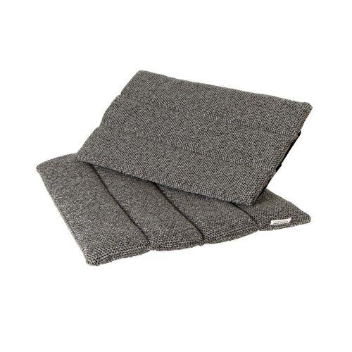 Cane-line - Sitz- und Rückenkissen für Flip Klappstuhl Outdoor, grau