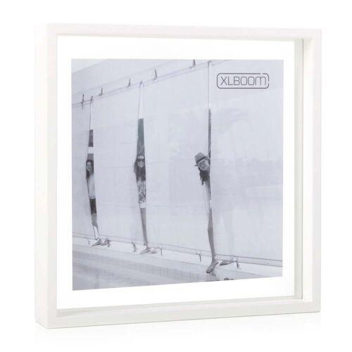 XLBoom - Square Floating Box Bilderrahmen 32 x 32 cm, weiß