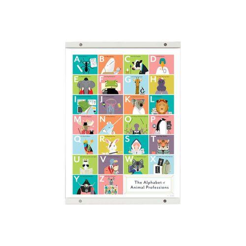 Pop Chart Lab - Bilderleiste weiß, 99 cm