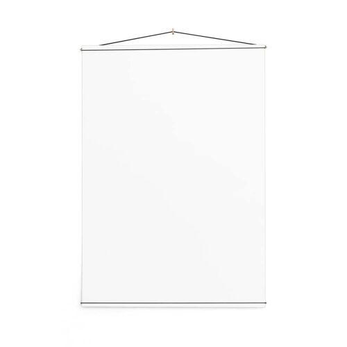 MOEBE - Poster Hanger, 70 x 100 cm, Messing