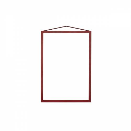 Moebe - Frame Bilderrahmen A4, deep red