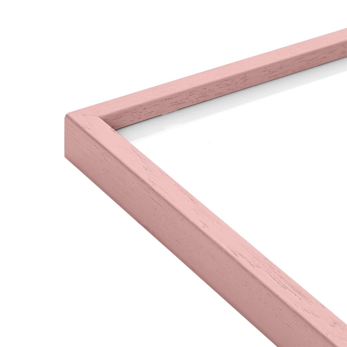 Paper Collective - Bilderrahmen 30 x 40 cm, Eiche pink