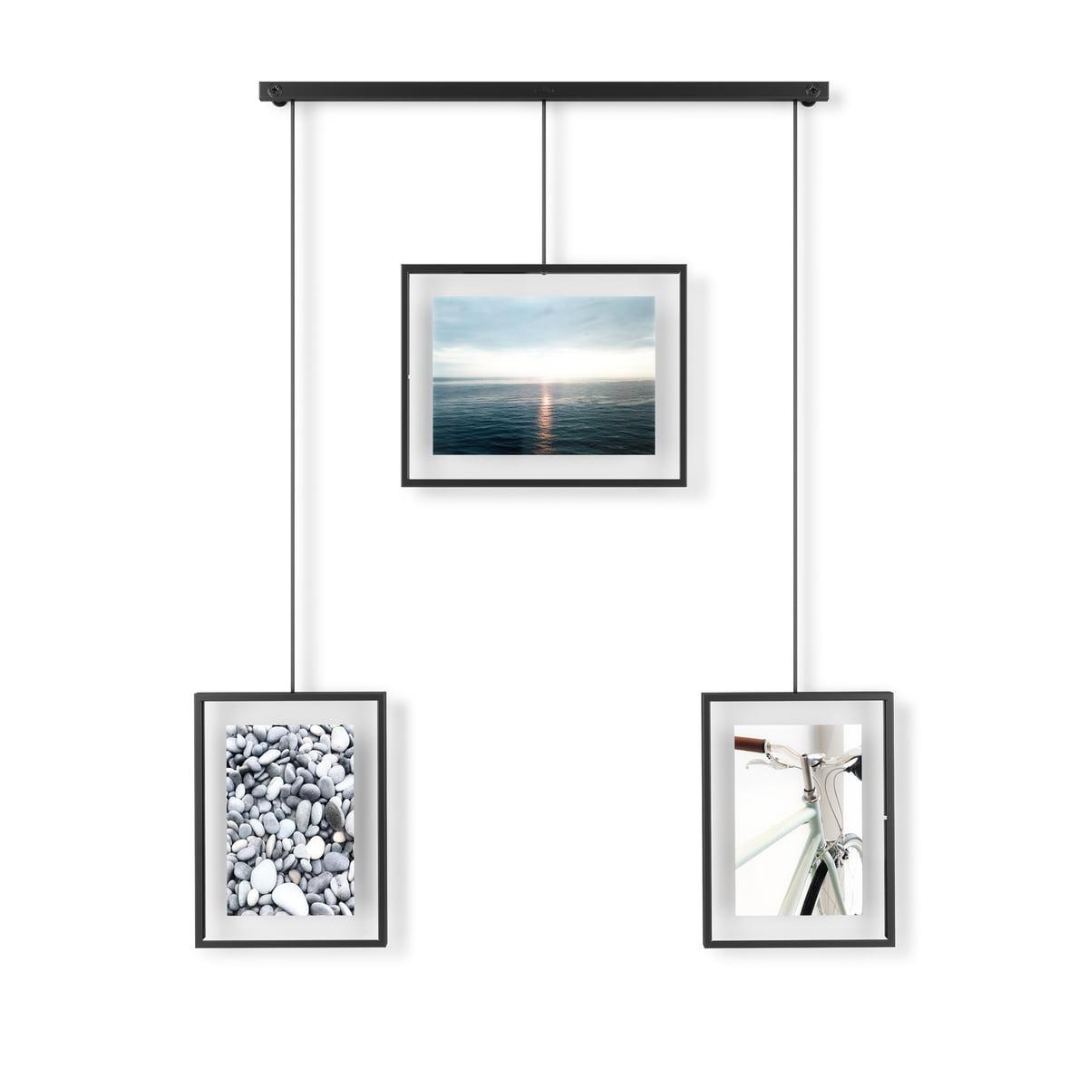 Umbra - Exhibit Bilderrahmen 3er-Set, schwarz