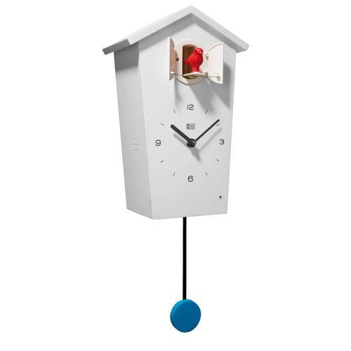 KooKoo - Bird House Kuckucksuhr, weiß