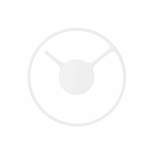 Stelton - Time Wanduhr 22 cm, weiß