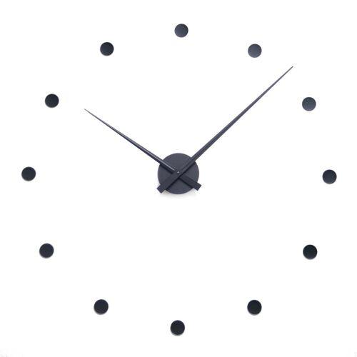 Radius Design - Flexible Wanduhr, schwarz