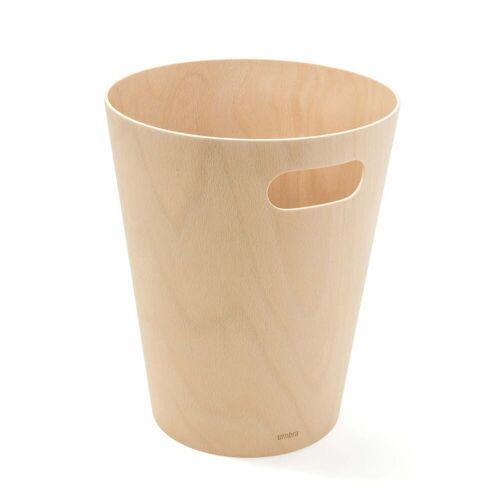 Umbra - Woodrow Papierkorb, natur