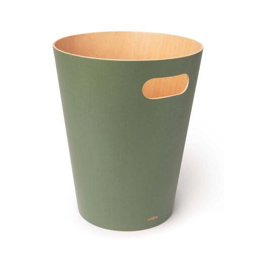 Umbra - Woodrow Papierkorb, spruce